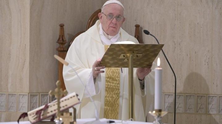 Papa se roagă pentru ca Europa să aibă unitatea fraternă visată de părinţii fondatori