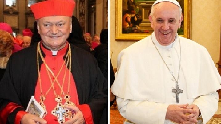 Cardinalul Lucian a transmis o scrisoare de felicitare Papei Francisc