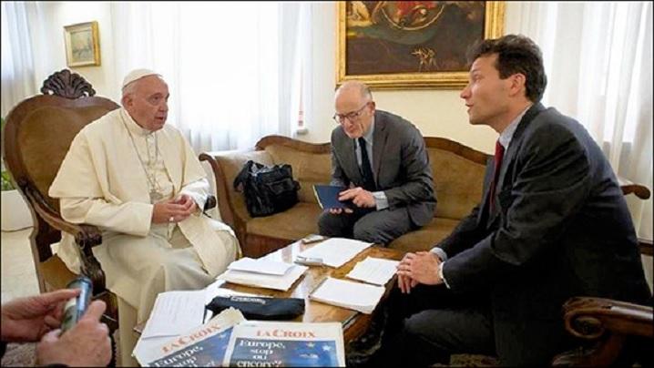 """Ce fel de creştinism pentru Europa. Papa intervievat de cotidianul francez """"La Croix"""""""