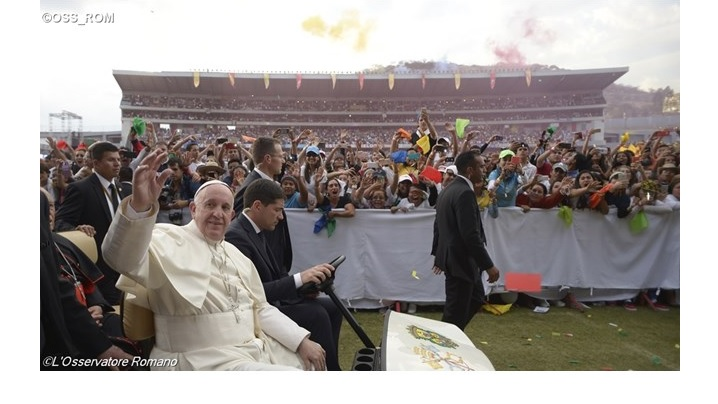 Papa, tinerilor din Mexic: voi sunteți speranța și bogăția țării