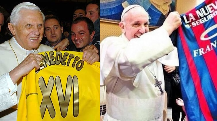 Finala Cupei Mondiale: Papa Benedict versus Papa Francisc?