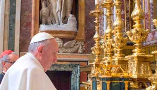 Sfântul Părinte este din nou la Roma