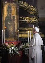 Rugăciunea Papei Francisc către Maica Domnului