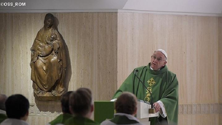 Papa Francisc: Dorința de putere ne împiedică să slujim Domnului