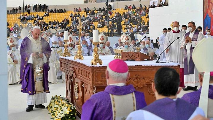 Papa Francisc, creștinilor din Câmpia Ninive: Cristos este viu! Nu sunteți singuri!