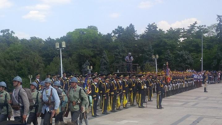 PS Mihai, la ceremonia de comemorare a 100 de ani de la intrarea României în Primul Război Mondial