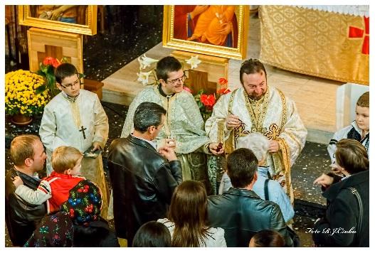 Vizita PS Claudiu, Episcopul Curiei, la Misiunea Greco-Catolică din Paris
