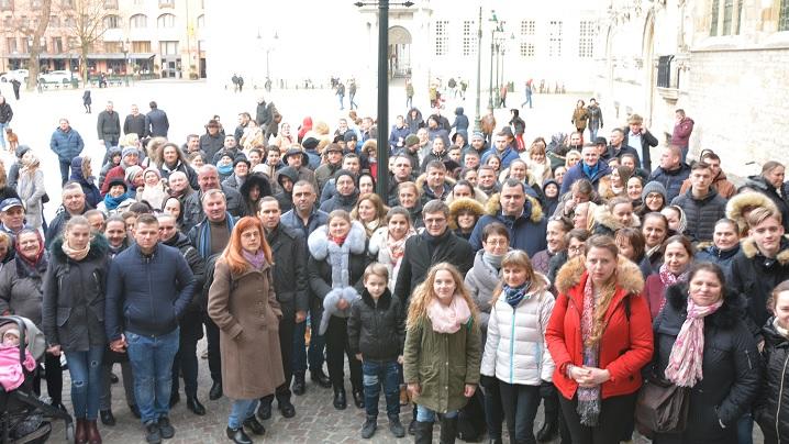 FOTO: Pelerinaj comun al credincioșilor greco-catolici români de la Paris și Bruxelles