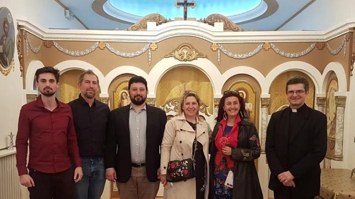 FOTO: Rona Hartner la Misiunea Greco-Catolică din Paris