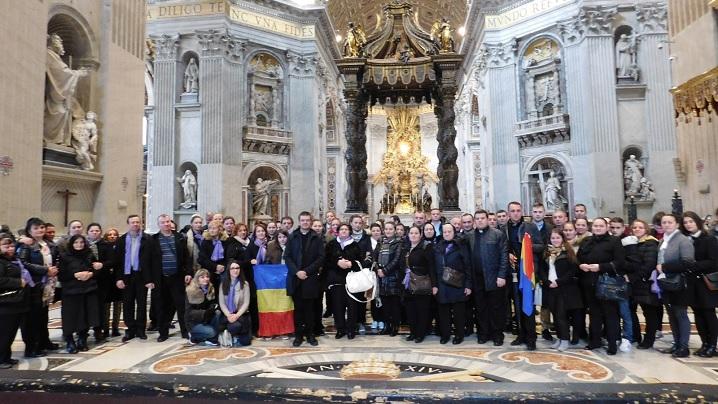 Parohia Greco-Catolică Română din Paris la Vatican
