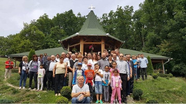 Parohia Agârbiciu în pelerinaj la Sanctuarul Fecioarei Săracilor din Cărbunari