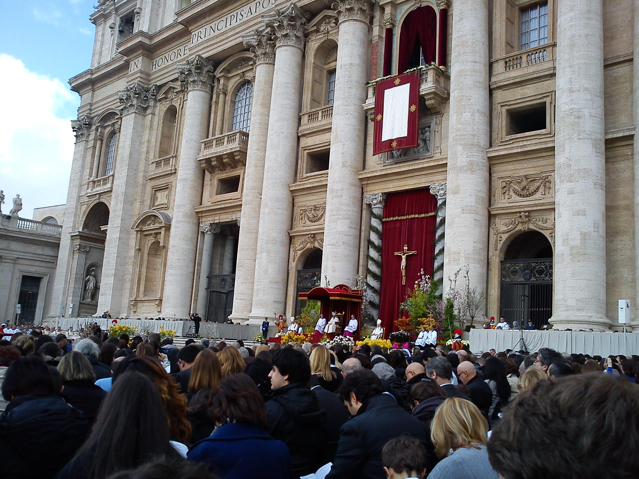 Duminica Învierii Domnului Isus Cristos la Vatican