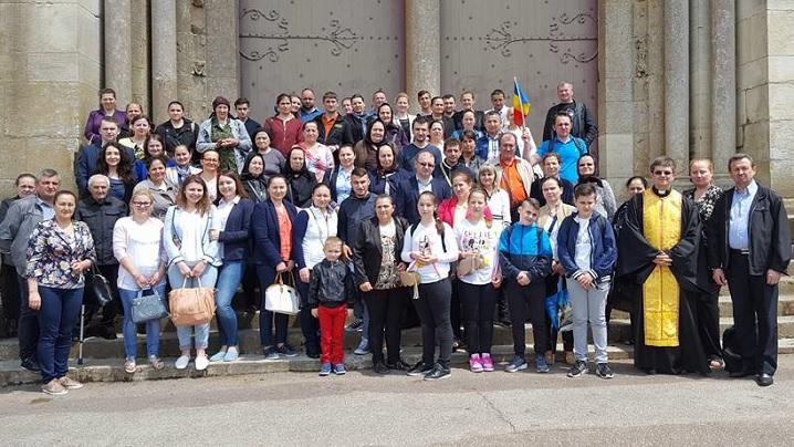 Pelerinajul Parohiei Greco-Catolice Române din Paris la Nevers și Vezelay