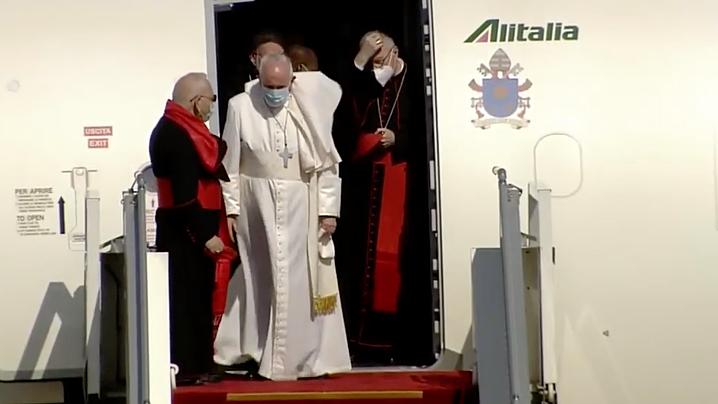 Papa Francisc a ajuns în Irak: așteptarea unui popor, îmbrățișată de lumina Evangheliei