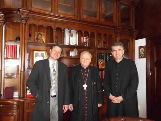 Coordonatorul Human Life International pentru Europa, Joannes Bucher, a vizitat România