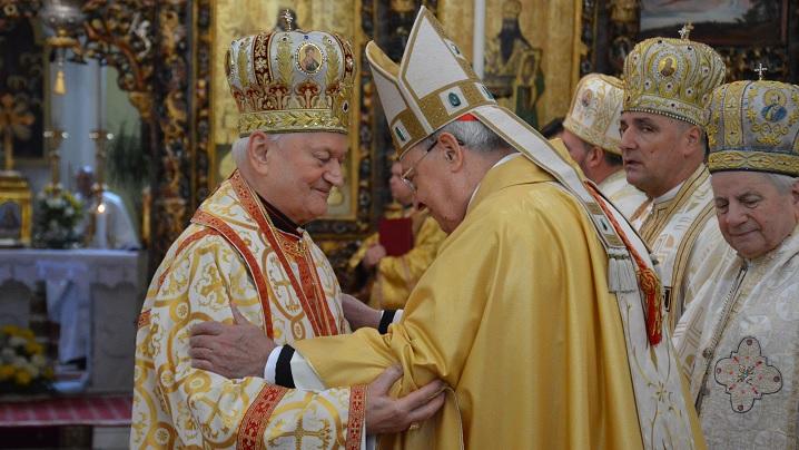 Cuvântul Preafericirii Sale Cardinal Lucian adresat Cardinalului Sandri