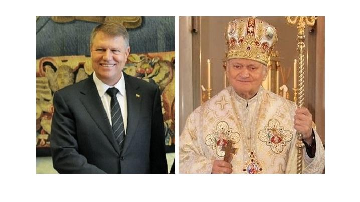 Scrisoarea Cardinalului Lucian adresată Președintelui României cu ocazia primirii episcopilor catolici la Palatul Cotroceni