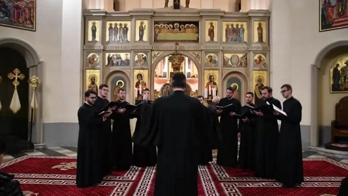 Video: Concertul de colinde al studenților Colegiului Pontifical Pio Romeno, 2019