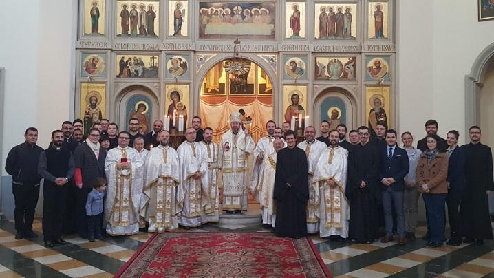 FOTO: Hirotonire de diacon la Colegiul Pontifical Pio Romeno din Roma