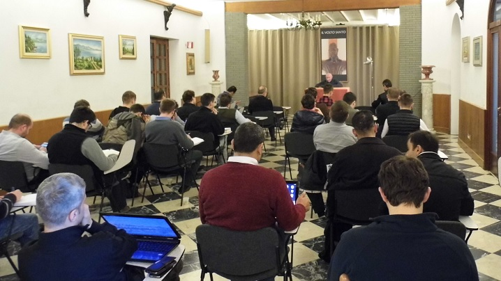 Exerciții spirituale pentru comunitatea Colegiului Pontifical Pio Romeno