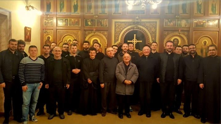 Pregătire spirituală pentru Nașterea Domnului la Colegiul Pio Romeno