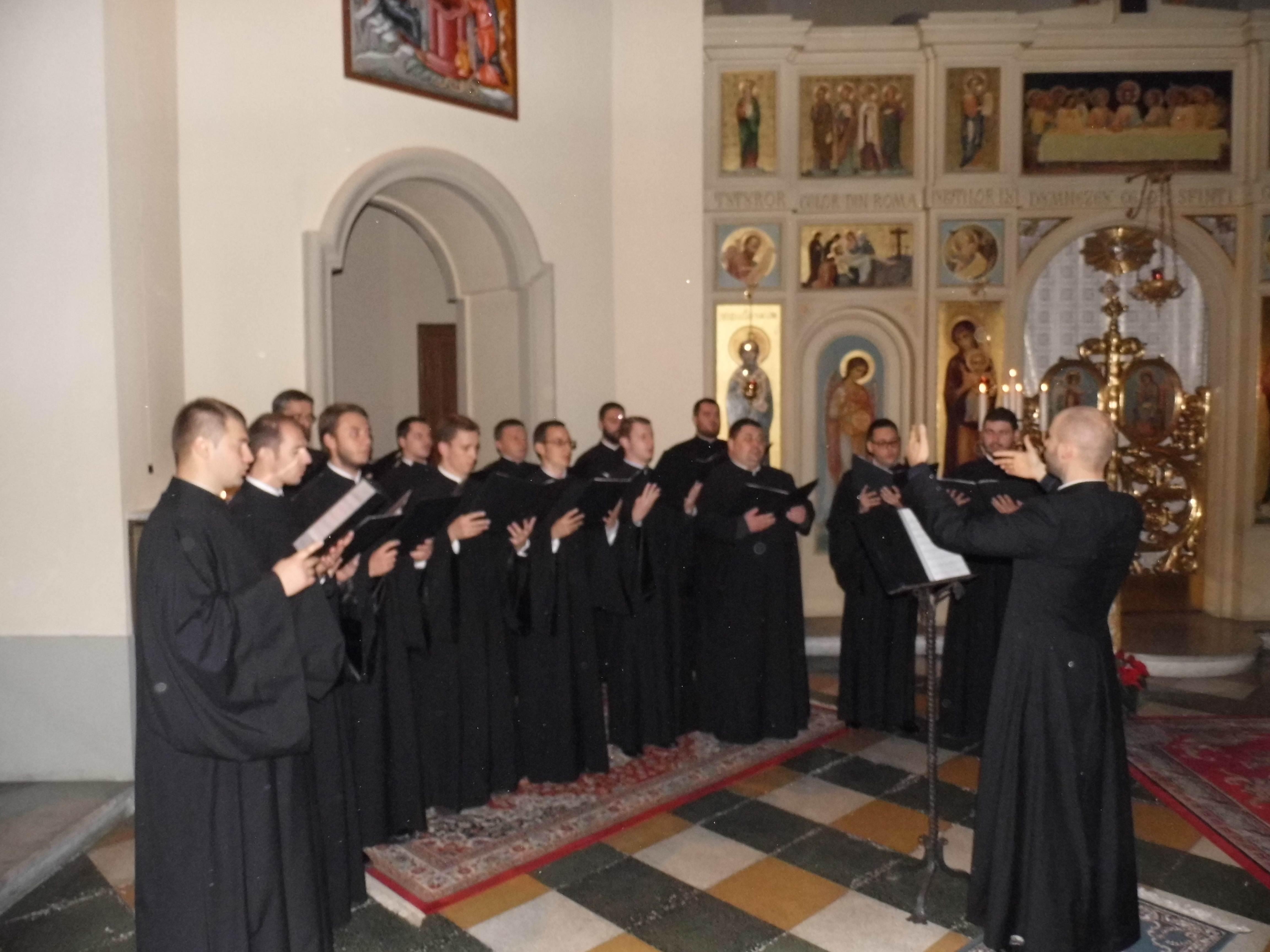 Concertul de Colinde al Colegiului Pio Romeno din Roma