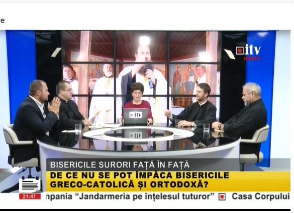 ANUNȚ:  în direct la Informaţia TV, a avut loc o dezbatere despre credinţă, biserică şi preoţie