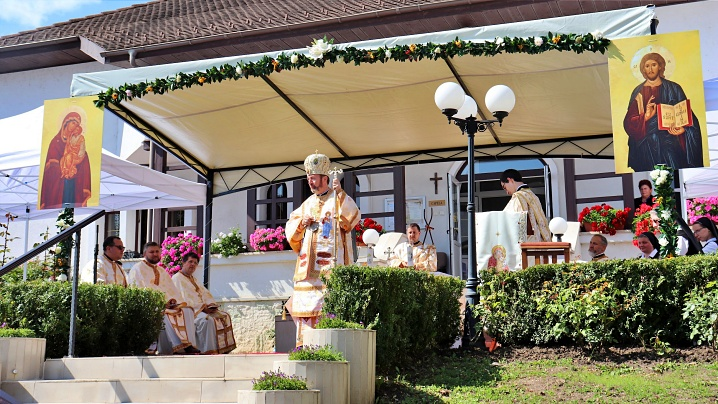 FOTO/VIDEO: Hramul Mănăstirii Maicii Domnului din Cluj-Napoca, Sanctuar Arhiepiscopal Major