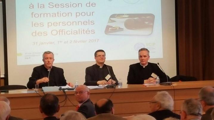 Conferința Rectorului Misiunii Române la Institutul Catolic din Paris