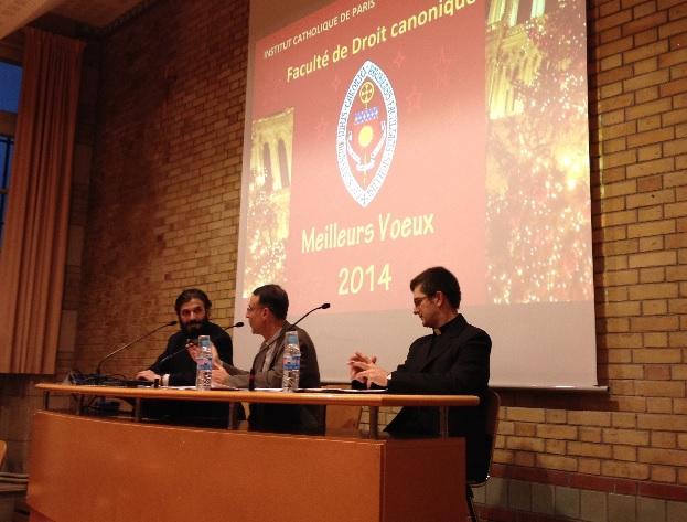 Conferință despre Biserica Română Unită la Institutul Catolic din Paris