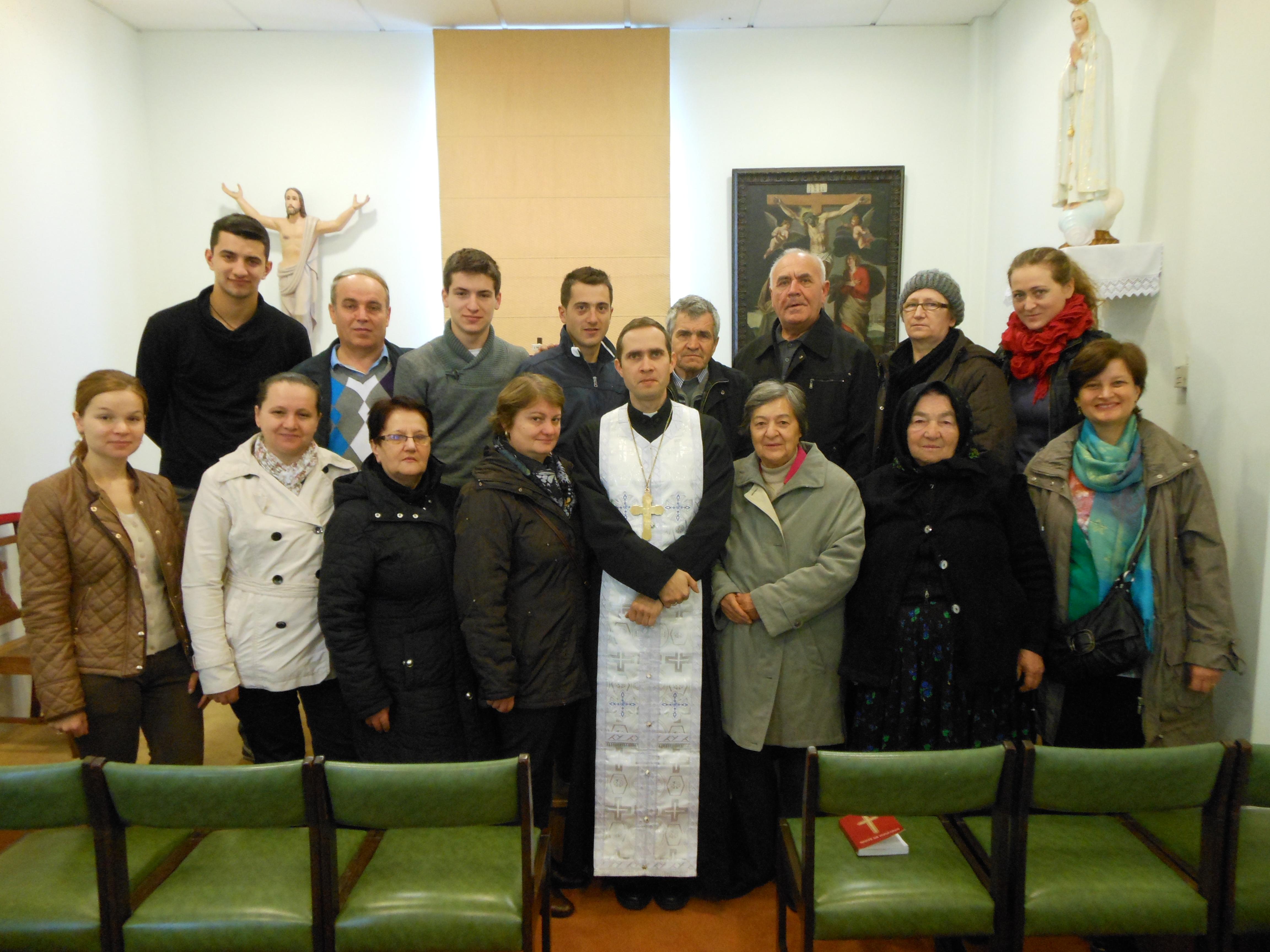 Pelerinajul credincioșilor Misiunii Române Greco-Catolice din Bruxelles la Fatima