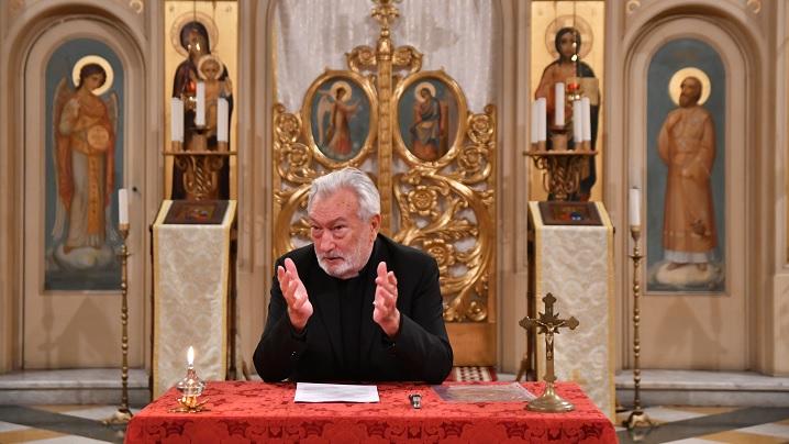 Conferință la Colegiul Pontifical Pio Romeno din Roma