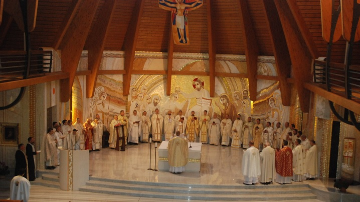 Foto: Exerciții spirituale pentru preoții Arhieparhiei de Alba Iulia și Făgăraș