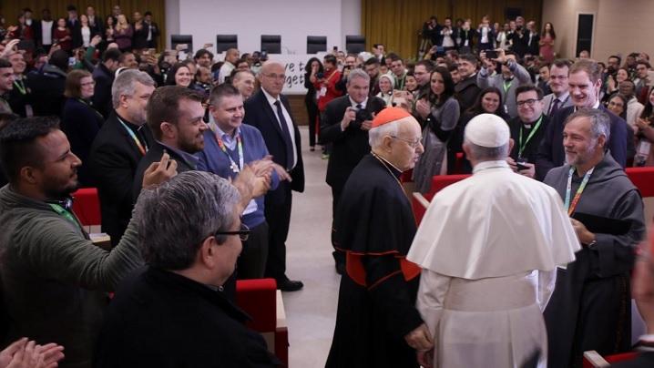 Papa Francisc, la întâlnirea pre-sinodală a tinerilor: Biserica are încredere în voi și vrea să vă asculte