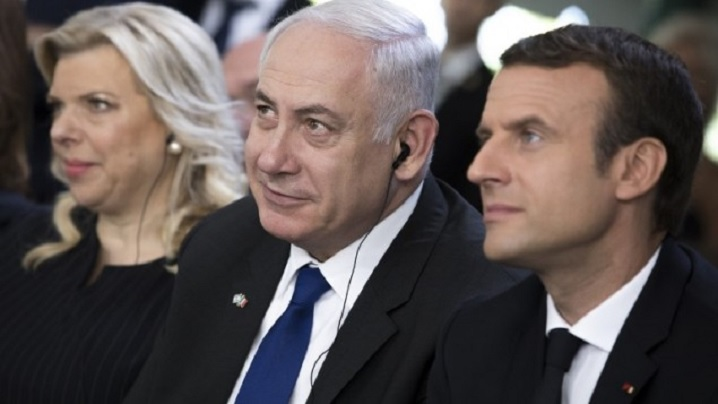 Benyamin Netanyahou a adus un omagiu Cardinalului Lustiger, la Notre Dame din Paris