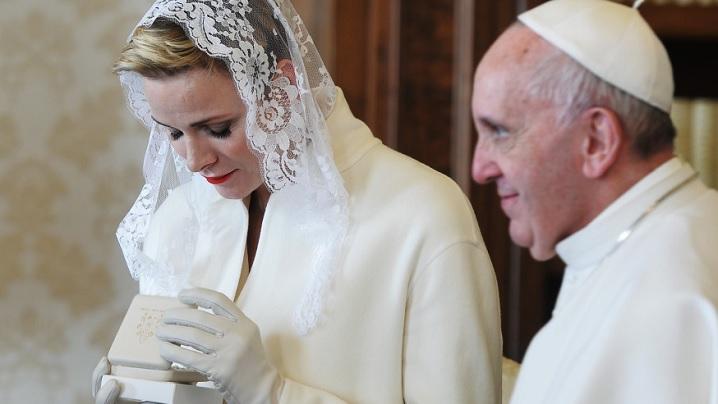 Principesa de Monaco vorbește despre credința sa catolică