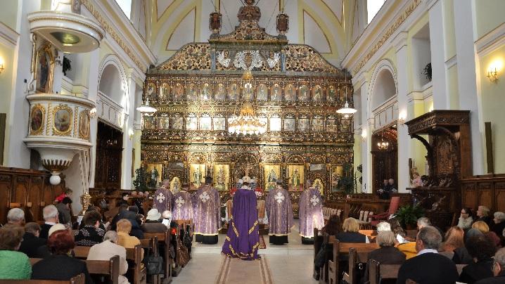 FOTO: Denia Prohodului Domnului în Catedrala Blajului