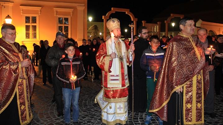 FOTO: Denia Prohodului Domnului la Catedrala din Blaj
