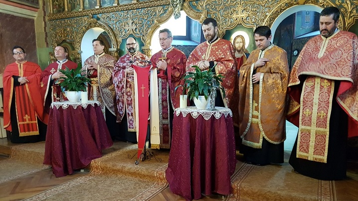 FOTO: Întâlnirea preoților din Protopopiatul Sibiu în Parohia Bradu