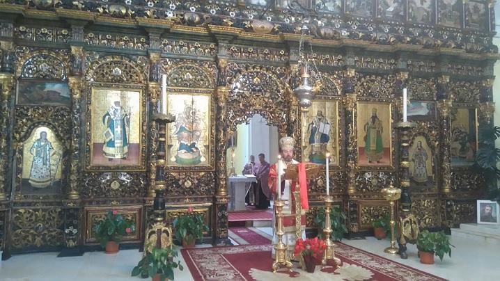 Denia celor 12 Evanghelii în Catedrala Blajului