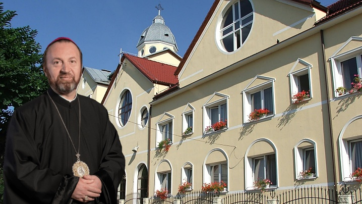 Sfânta Liturghie cu PS Claudiu la Hramul Mănăstirii Sfânta Macrina OSBM - Cluj