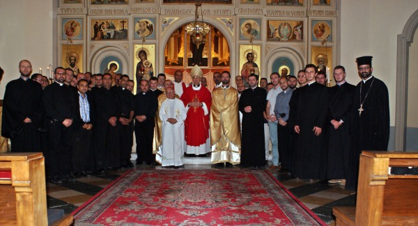 Liturghie Arhierească la Colegiul Pontifical Pio Romeno