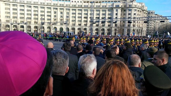 VIDEO/FOTO: 1 Decembrie, Ziua Națională a României serbată în Capitală