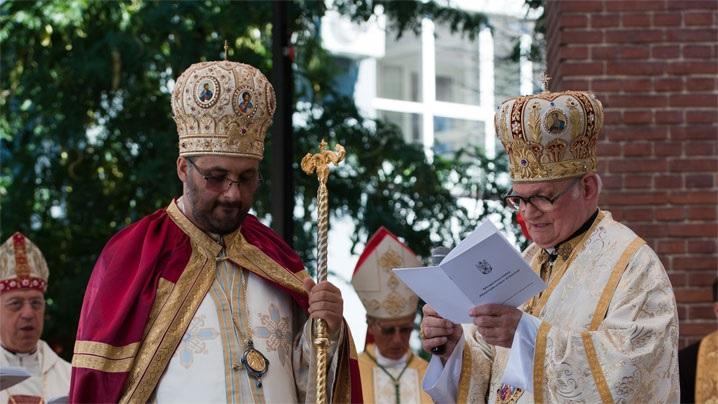 Patru ani de la instalarea canonică a PS Mihai ca prim episcop greco-catolic de Bucureşti