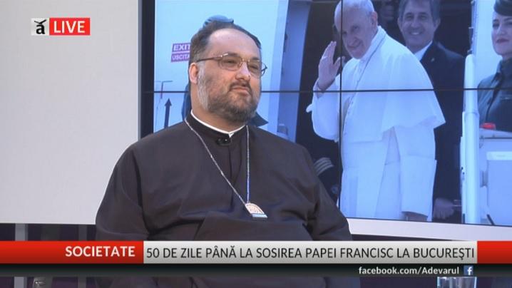 50 de zile până la sosirea Papei Francisc la Bucureşti