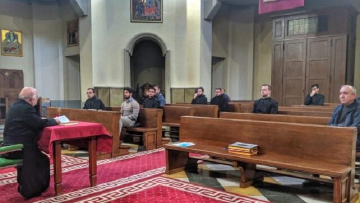 Reculegere pentru Paști la Colegiul Pontifical Pio Romeno din Roma