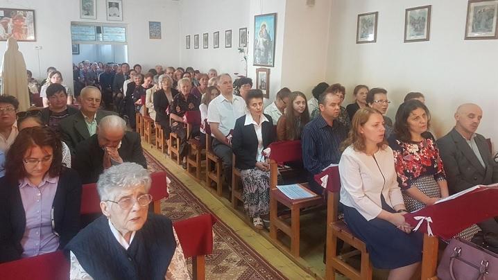 Zi de sărbătoare pentru parohia Greco-Catolică Reghin II – Înălţarea Sfintei Cruci