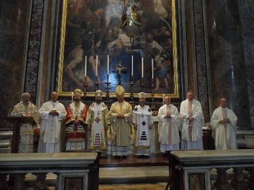 FOTO: Sfânta Liturghie de deschidere a celei de-a 87-a Adunări Plenare a ROACO