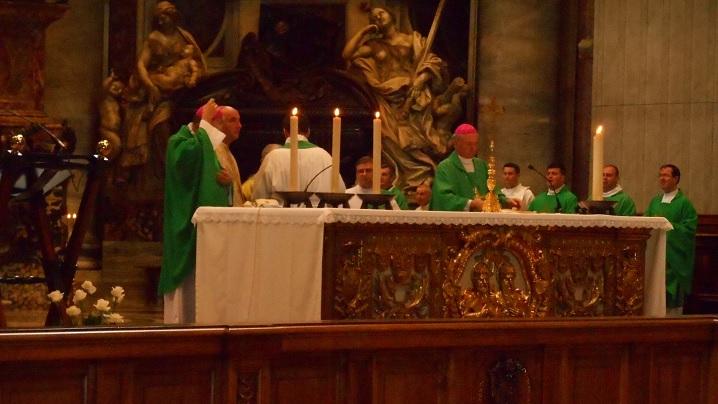 Predica IPS Ioan Robu în bazilica San Pietro cu ocazia pelerinajului național la Roma