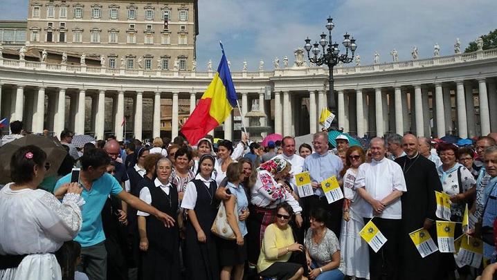 FOTO: Papa Francisc salută din nou pelerinii din România. Reflecție despre fiul risipitor
